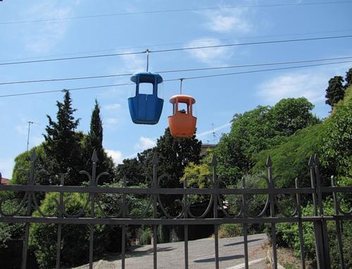 Канатная дорога Ялта-Горка
